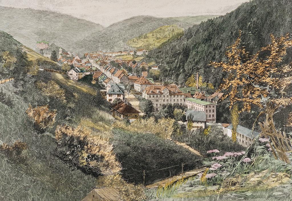Einsatz der »Schwarzwaldbahn« für den Stahltransport
