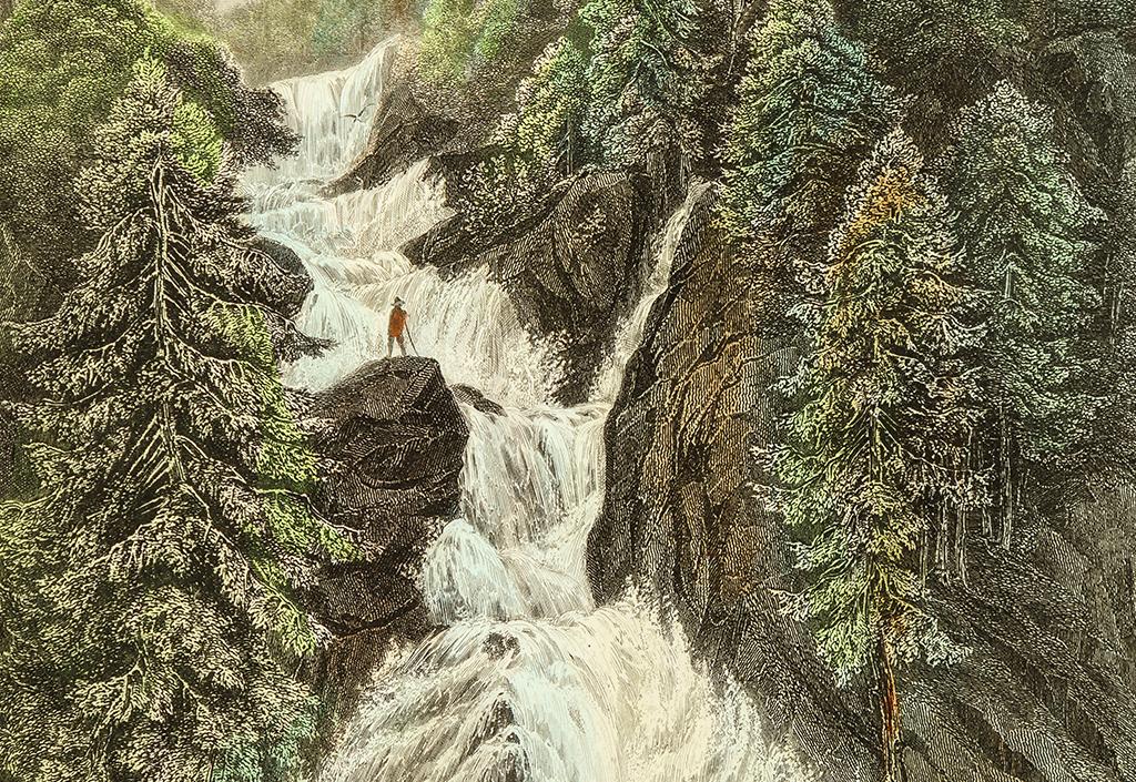 Nutzung der am »Triberger Wasserfall« gewonnenen Energie