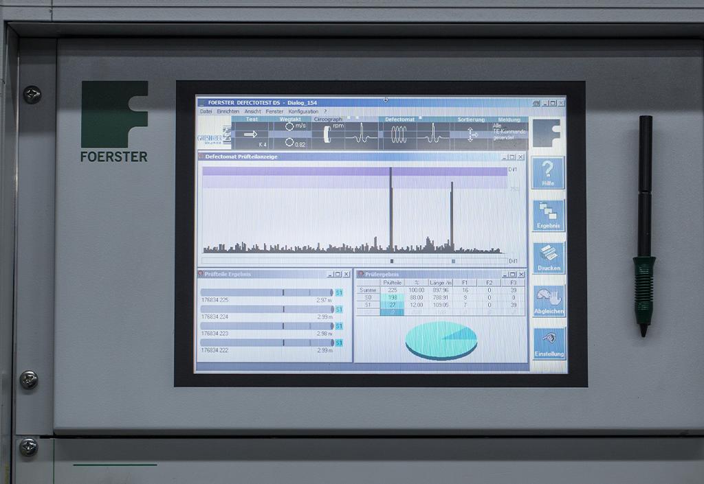 Erweiterung der Wirbelstrom-Stabprüfung bis 2mm Durchmesser online