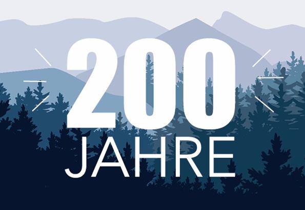 200 jähriges Jubiläum